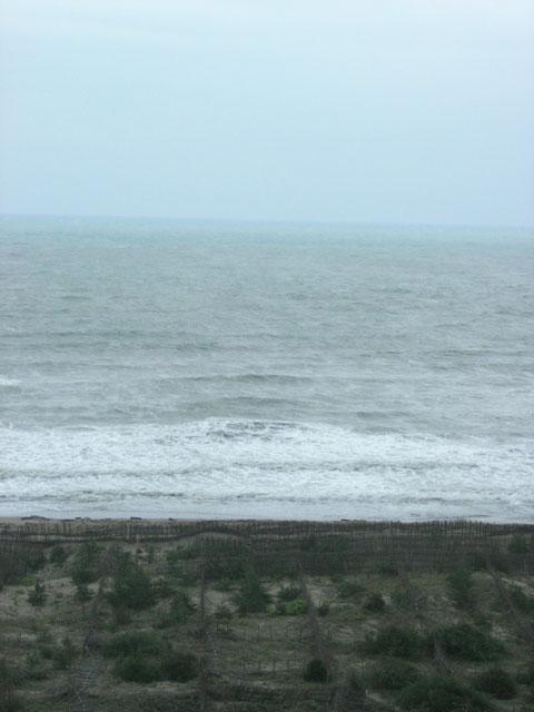 丘上見一片大海